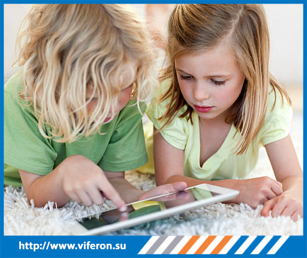 смартфон,планшет и дети